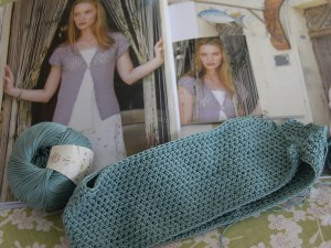 A crochet project for summer: a cardigan