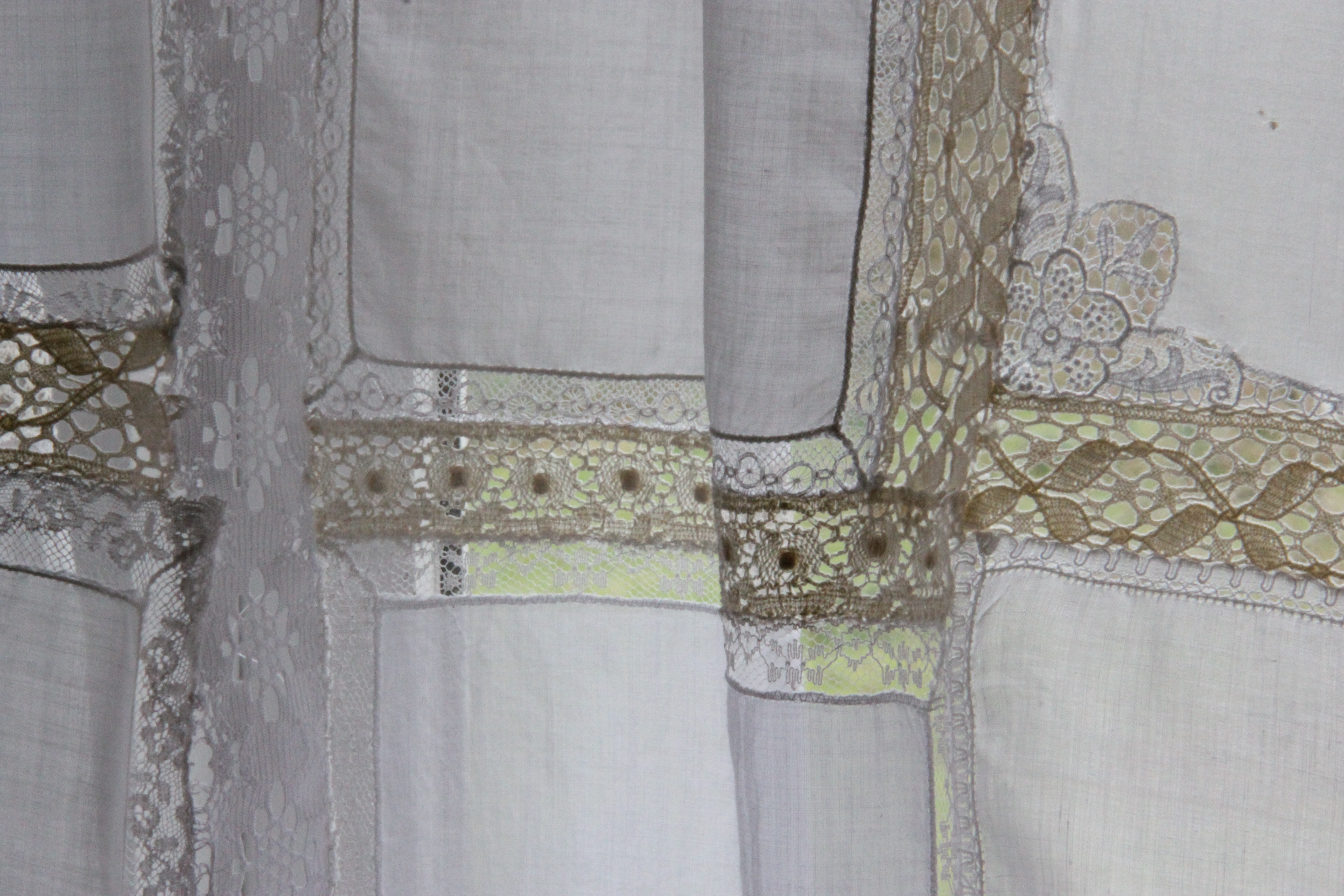 Shabby Chic Curtains Sea Green And Sapphire