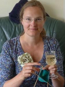 Celebratory knitting