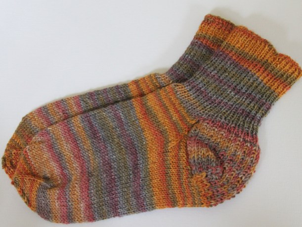 Knitted Socks from Trekking Yarn