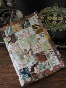 Patchwork Needle Case from Vintage Fabrics