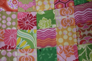 Patchwork garden chair covers