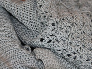 Crochet cardigan to be unravelled