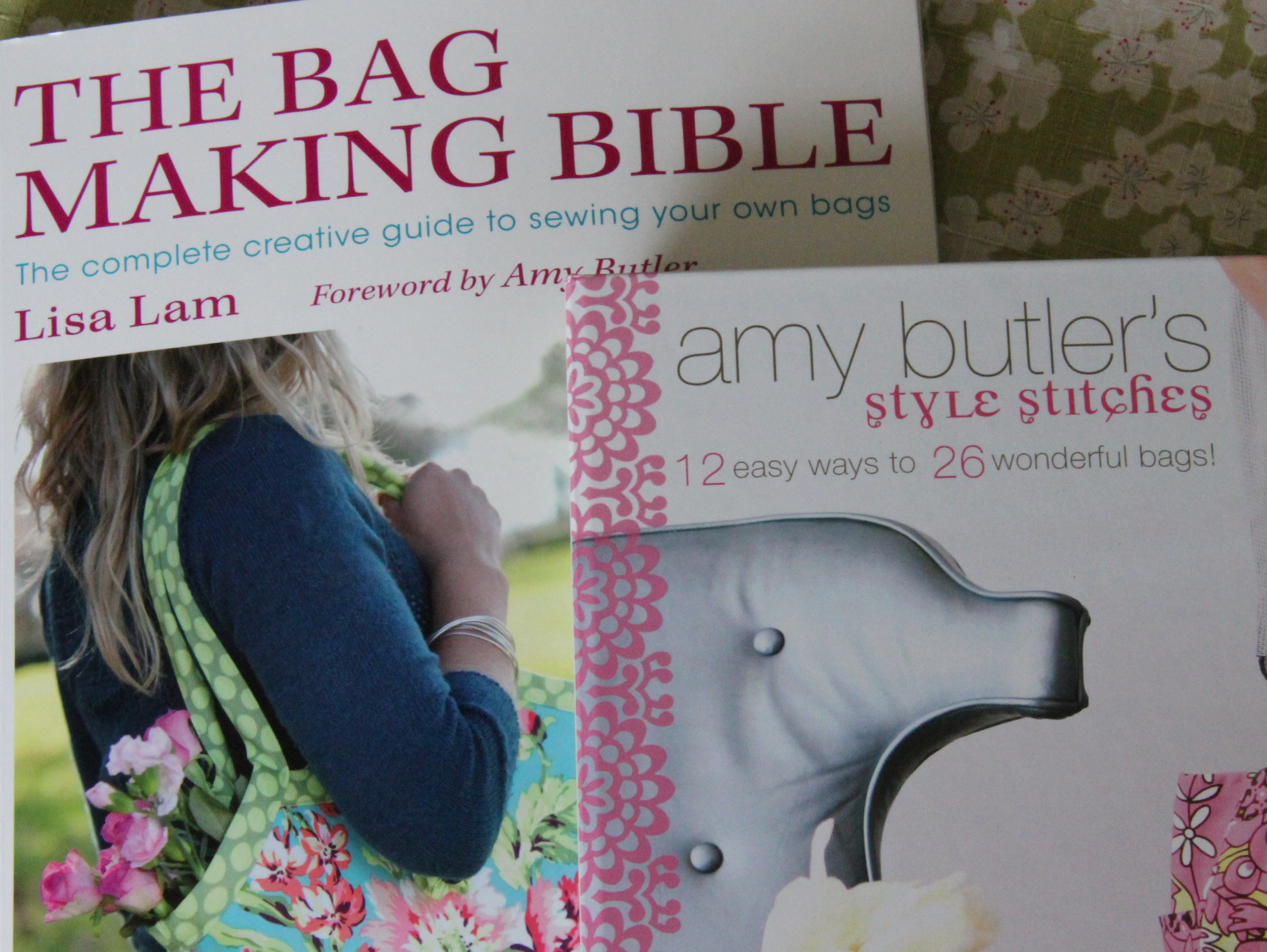 My Favourite Craft Books On Bag Making Sea Green And Sapphire