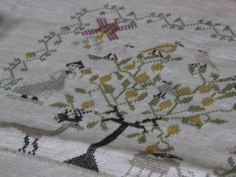 My First Cross Stitch Project (still in progress)