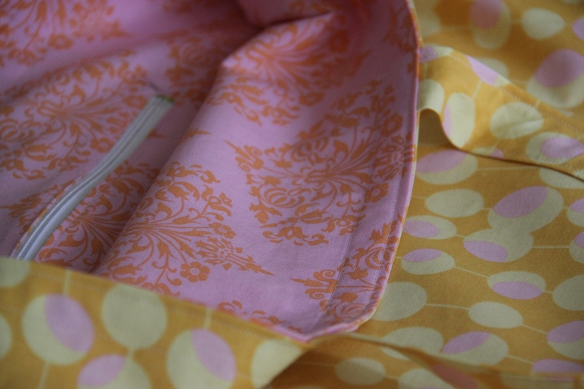 An easy shopping bag sewing project
