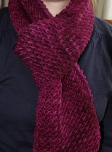 Super Fast Scarf from Araucania Nature Chunky