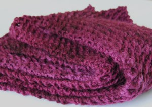Super Fast Scarf from Araucania Nature Wool