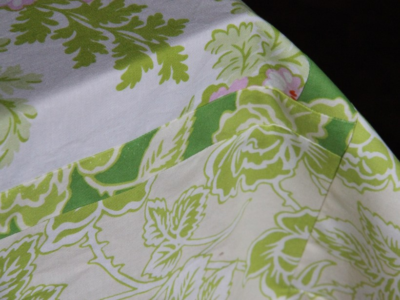 Patchwork Tablecloth detail