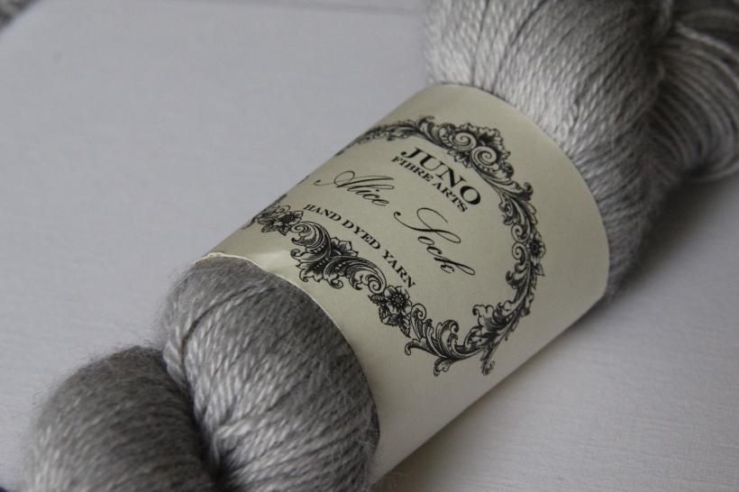 Juno Alice Sock Yarn in French Gray