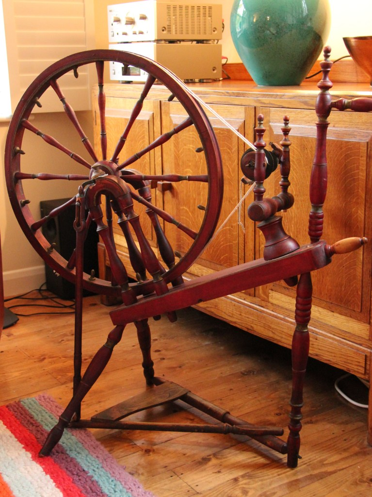 My antique spinning wheel