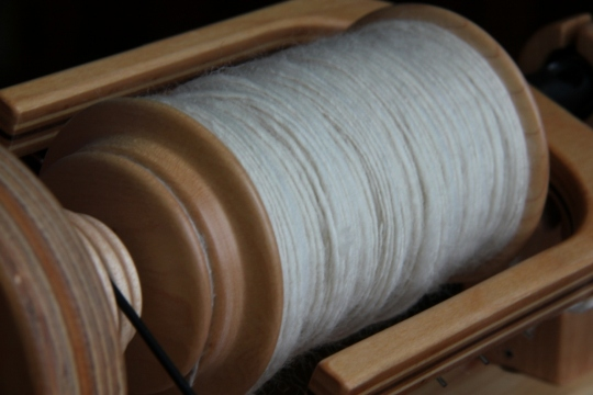 Spinning Semi-Worsted Yarn