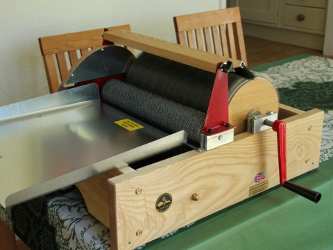 My New Drum Carder, Strauch Finest