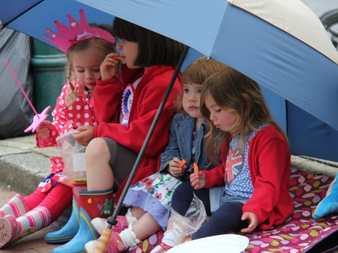 Diamond Jubilee village party