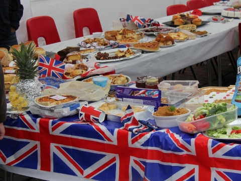Diamond Jubilee Party Food