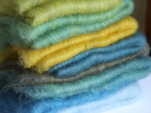 Batts of colour