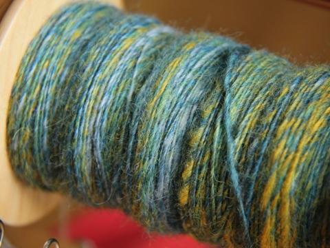The singles yarn