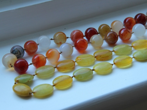 Yellow and Orange Beads